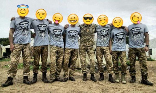 Милитари футболка в цвете олива НЕСКОРЕНІ ЗСУ