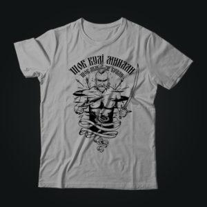 Патриотическая футболка КОЗАК