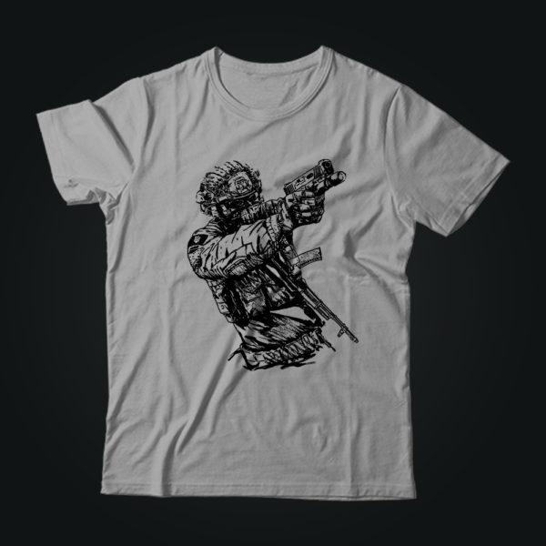 Милитари футболка SOLDIER Ukraine