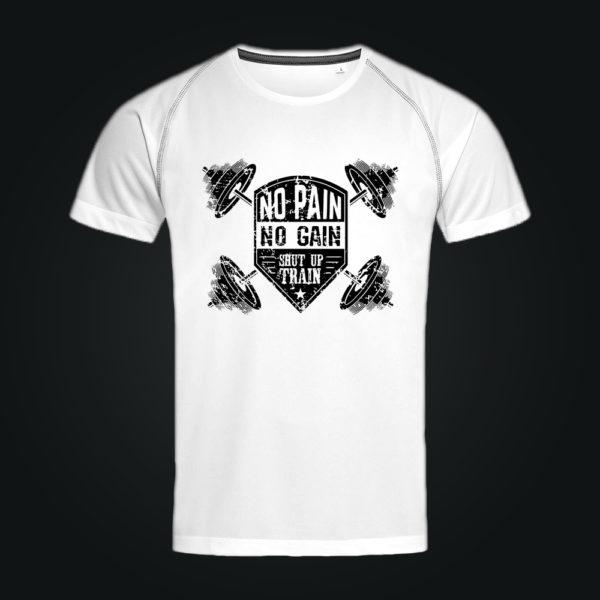 Спортивная футболка ACTIVE-DRY NO PAIN NO AGAIN