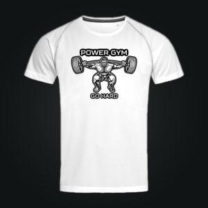 Спортивная футболка ACTIVE-DRY POWER GYM