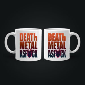 Горнятко з малюнком DEATH METALL