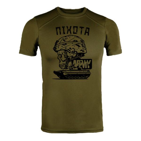 Футболка CoolMax ПІХОТА ARMY олива