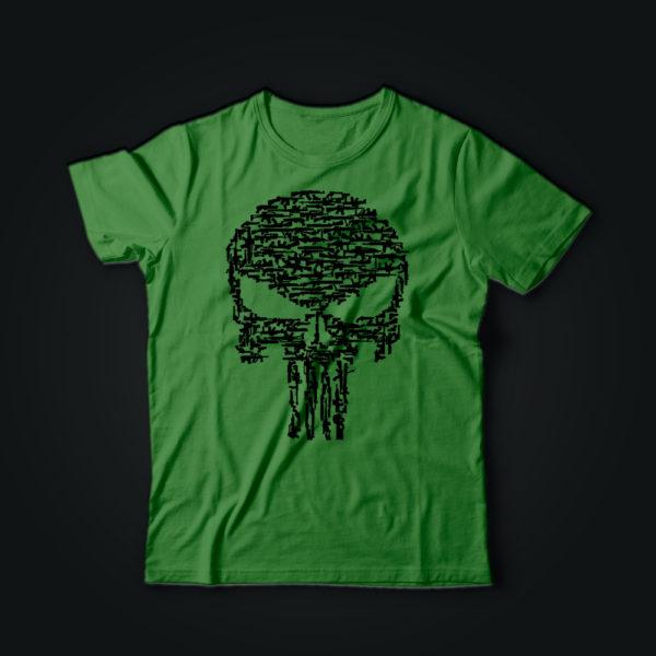 Милитари футболка КАРАТЕЛЬ олива