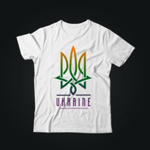 Патриотическая футболка УКРАЇНА
