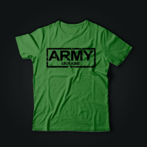 Милитари футболка ARMY олива
