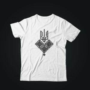 Патриотическая футболка ТРИZУБ