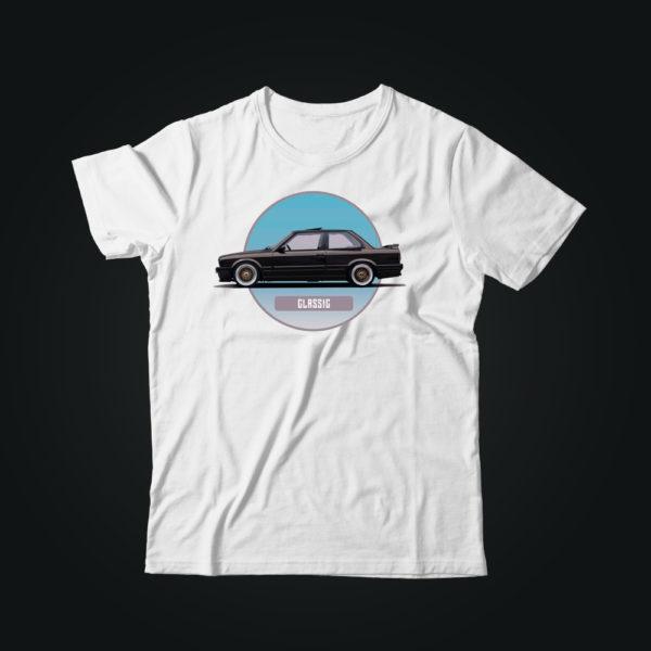 Мужская футболка casual BMW