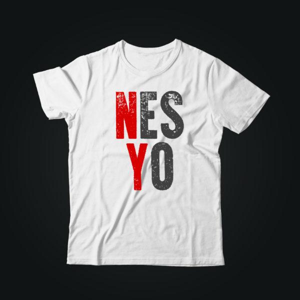 Мужская футболка casual YES