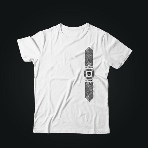 Патриотическая футболка ОРНАМЕНТ