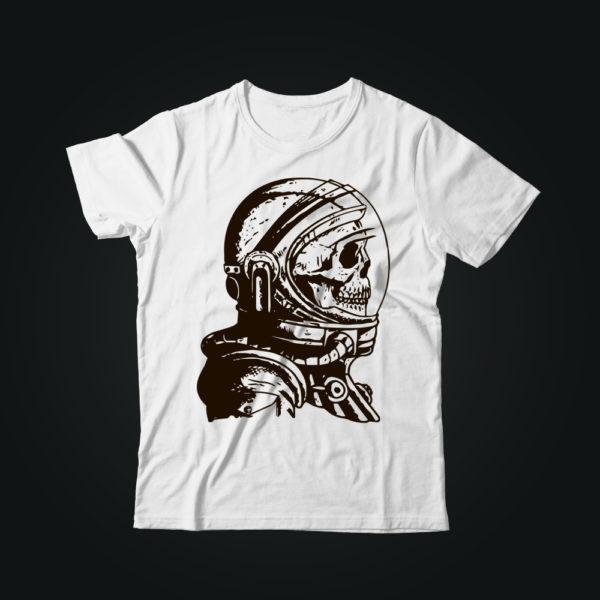Мужская футболка с принтом SPACE