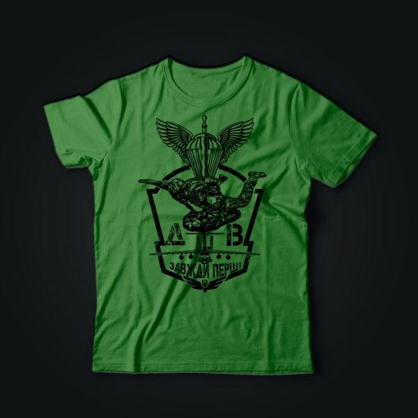 Милитари футболка ВДВ олива