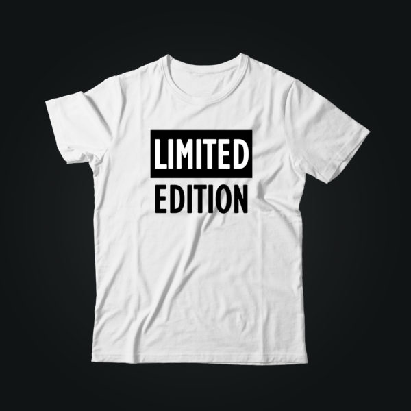 Мужская футболка с принтом LIMITED EDITION
