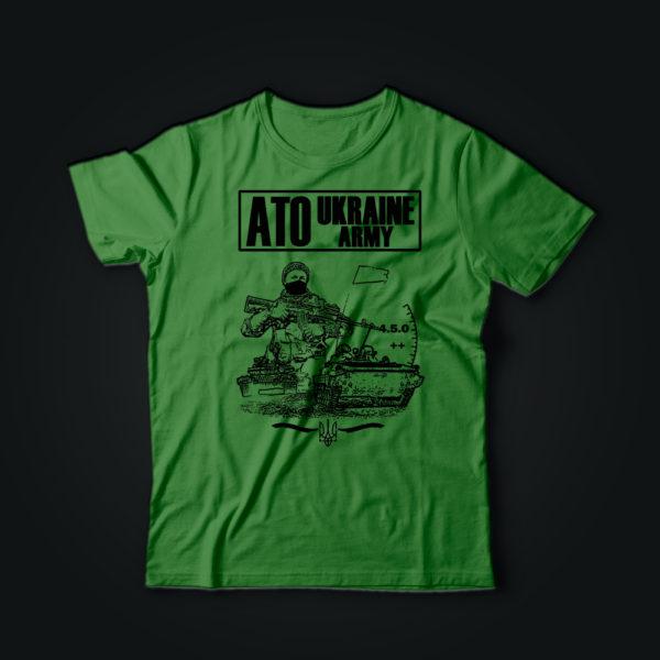 Милитари футболка ATO олива