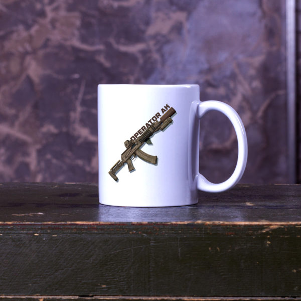 Горнятко з малюнком AK OPERATOR