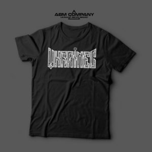 Мужская футболка черная УКРАЇНЕЦЬ