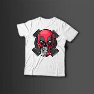 Мужская футболка с принтом X