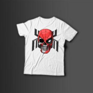 Мужская футболка с принтом SPIDER — MAN