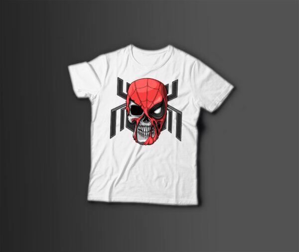 Мужская футболка с принтом SPIDER - MAN