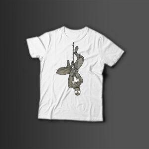 Мужская футболка с принтом SPIDER MAN