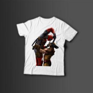 Мужская футболка с принтом X — MEN