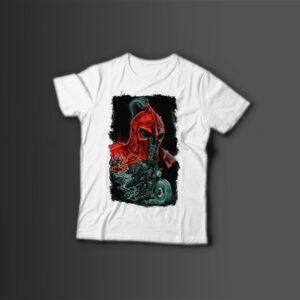 Мужская футболка с принтом GHOST RIDER