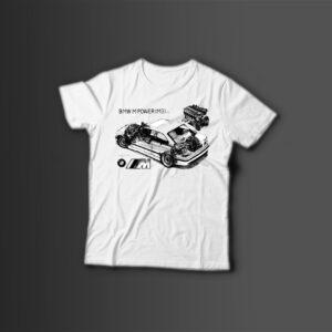 Мужская футболка с принтом M-POWER