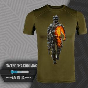 Футболка CoolMax SOLDIER цвет олива