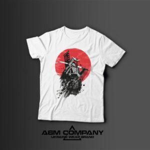 Мужская футболка с принтом SAMURAI