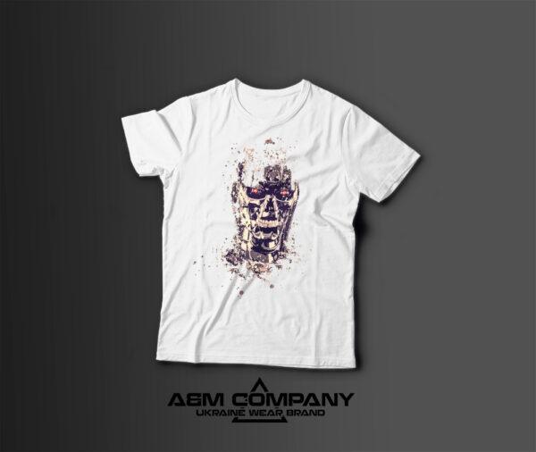 Мужская футболка с принтом TERMINATOR