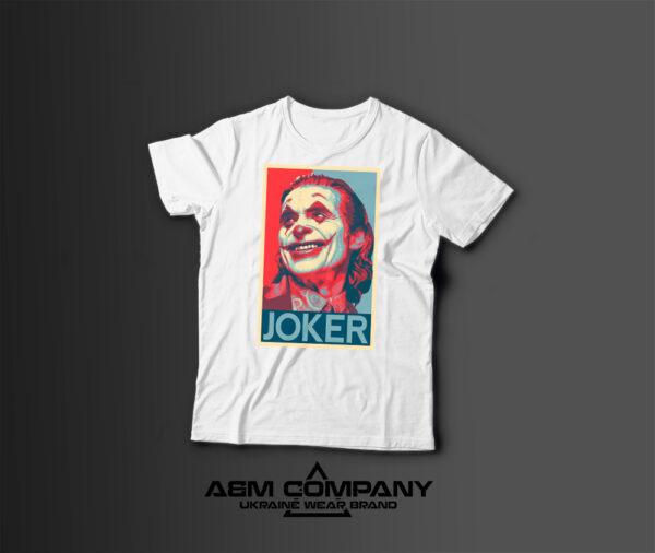 Мужская футболка с принтом JOKER
