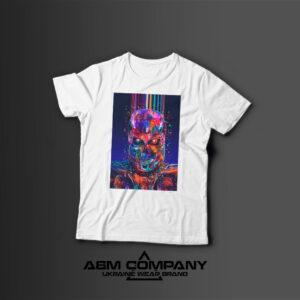 Мужская футболка с принтом TERMINATOR 2