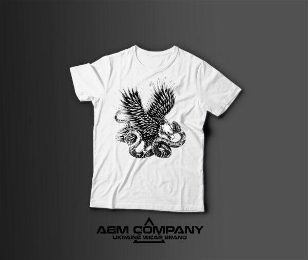 Мужская футболка с принтом EAGLE