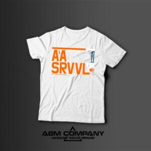 Мужская футболка с принтом SRVVL