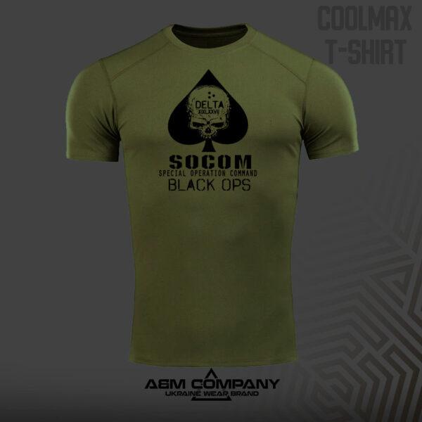 Футболка CoolMax SOCOM цвет олива
