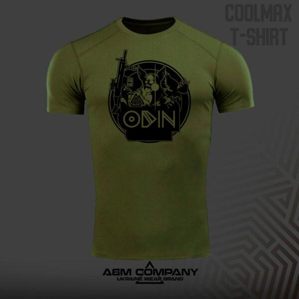 Футболка CoolMax DARK цвет олива