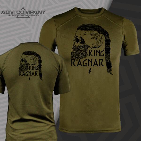 Футболка CoolMax KING RAGNAR цвет олива