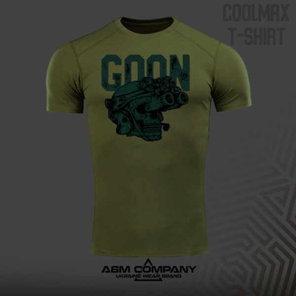 Футболка CoolMax GOON NIGHT цвет олива