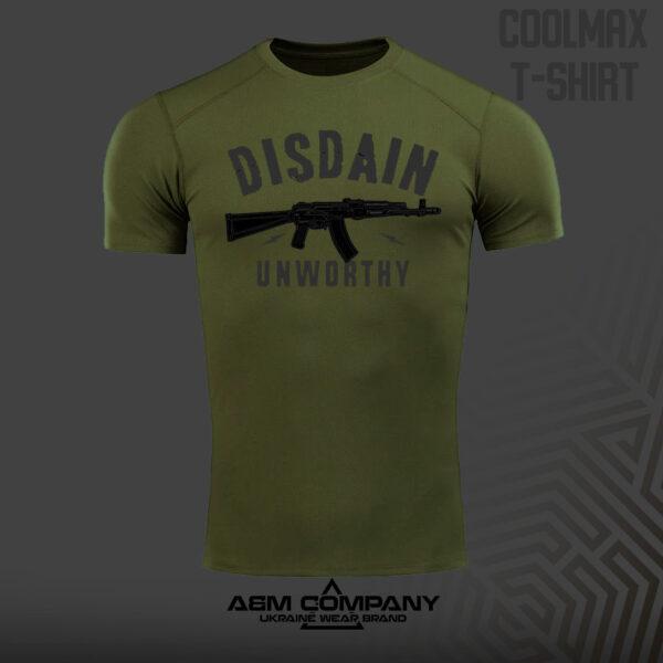 Футболка CoolMax DISDAIN цвет олива
