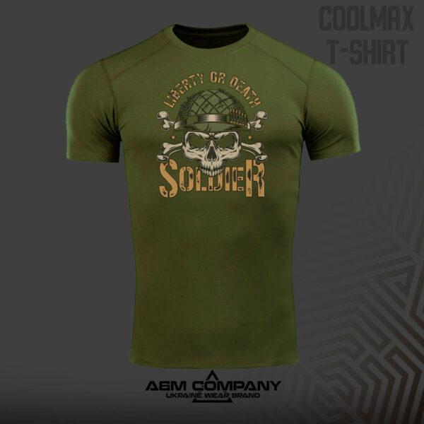 Футболка CoolMax SOLDIERS+ цвет олива