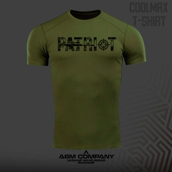 Футболка CoolMax PATRIOT UKR цвет олива