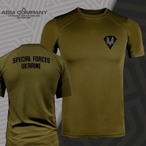 Футболка CoolMax SSO FORCES UKRAINE цвет олива