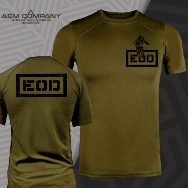 Футболка CoolMax EOD ВИБУХ цвет олива