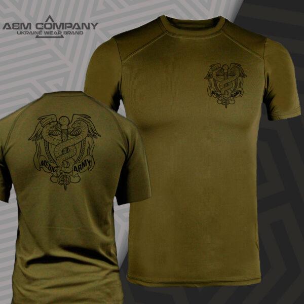 Футболка CoolMax MEDIC ARMY цвет олива