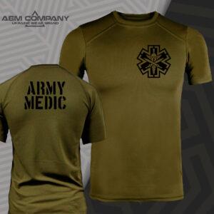 Футболка CoolMax MEDICAL ARMY цвет олива