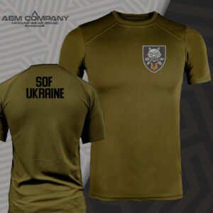 Футболка CoolMax SOF UKRAINE цвет олива