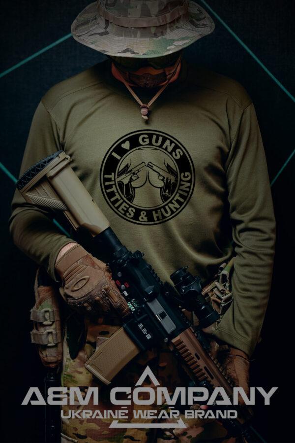 Реглан COOLMAX GUNS TITTIES