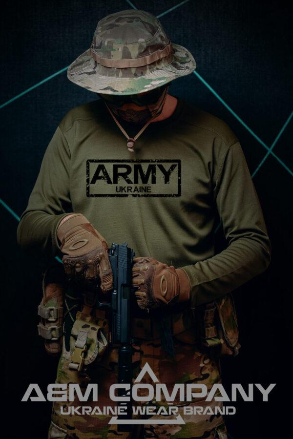 Реглан COOLMAX ТРИЗУБ ARMY UKRAINE